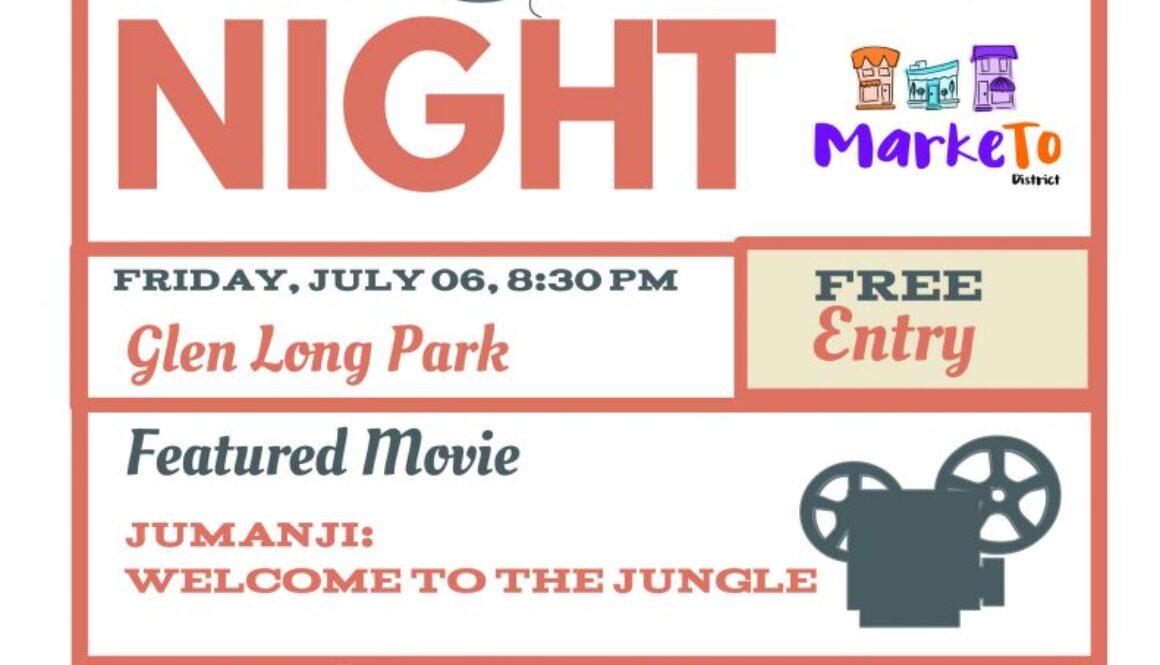 Marketo Movie Night Poster 2018