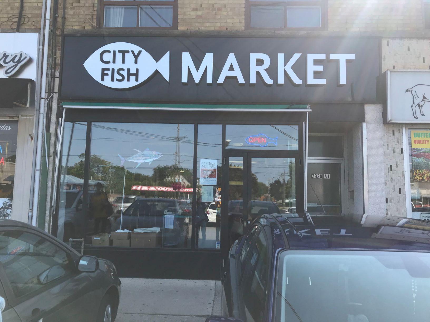 City Fish Market Exterior