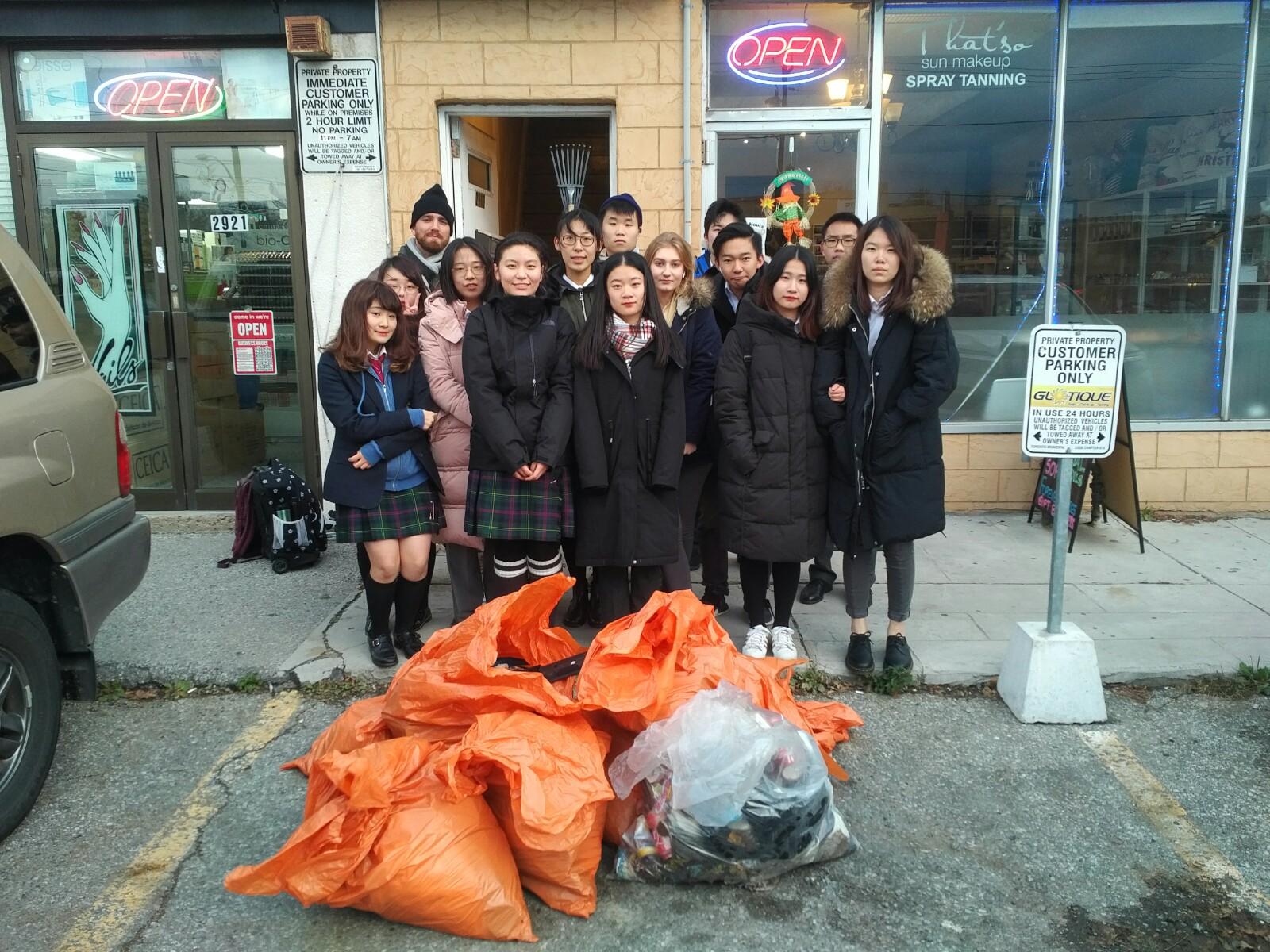 MarkeTo District Community Clean Up November 2018
