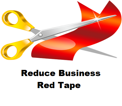 Reduce Red Tape
