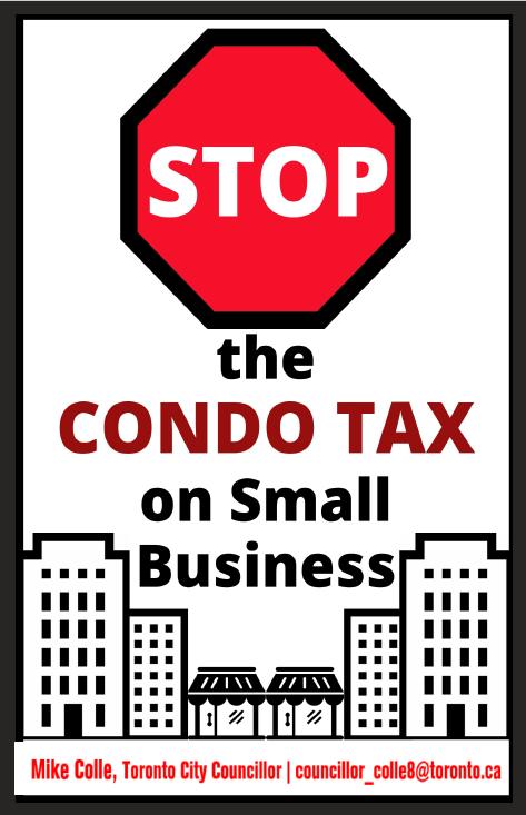 Stop The Condo Tax