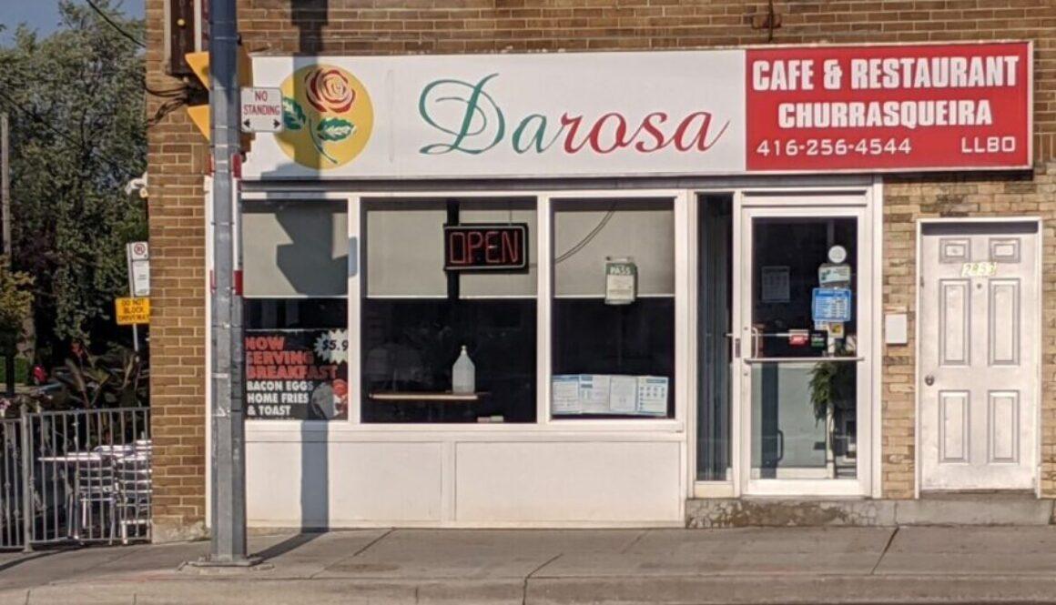 DaRosa's Cafe & Restaurant Exterior