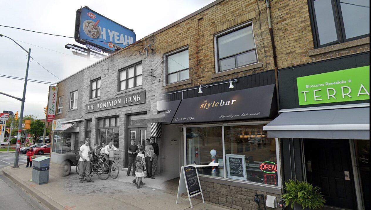 East Side Dufferin - South Glencairn, Past (1950) - Present (2020)
