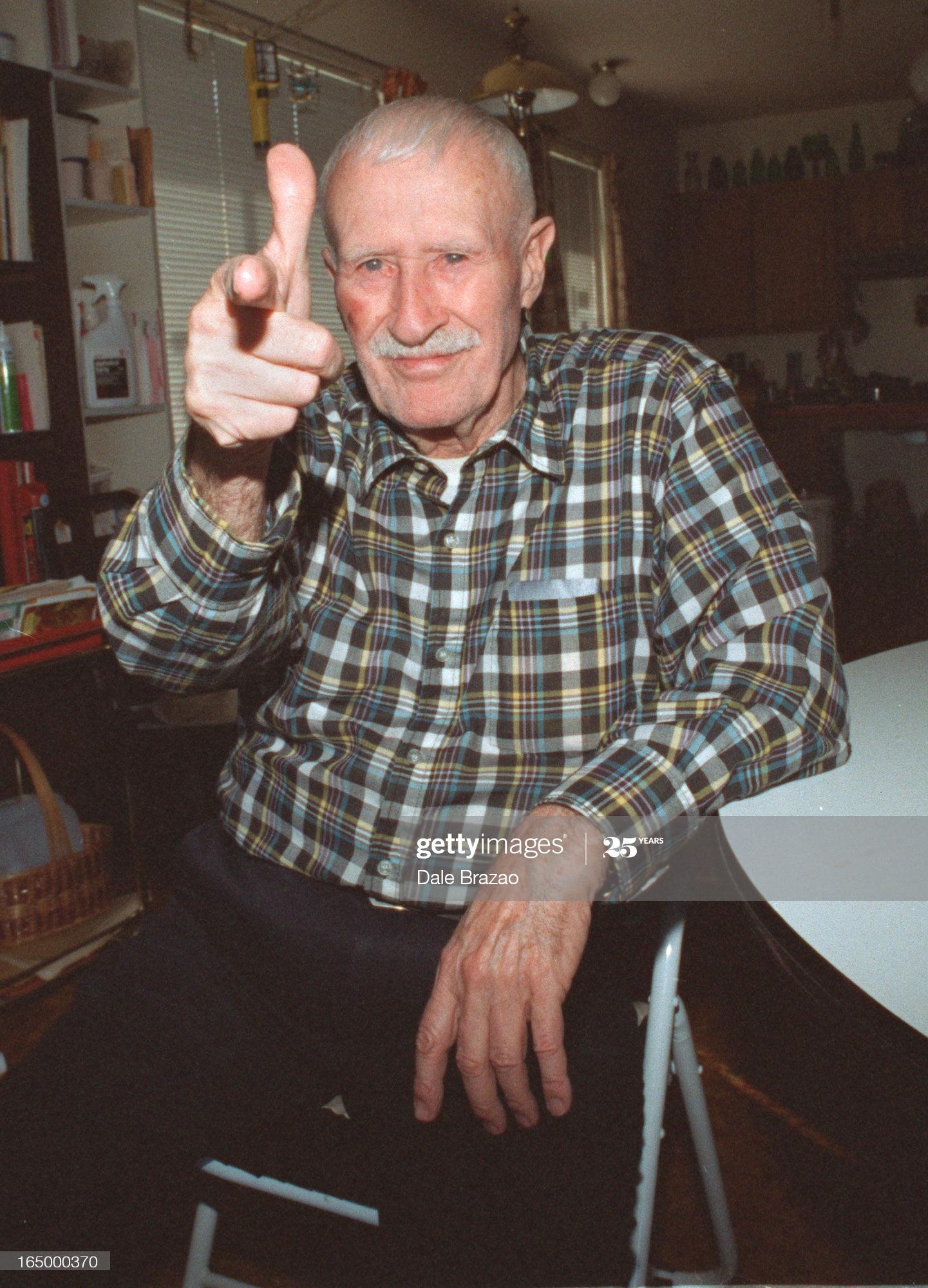 Edwin Alonzo Boyd seen Sept. 27, 1996 in his home in B.C.